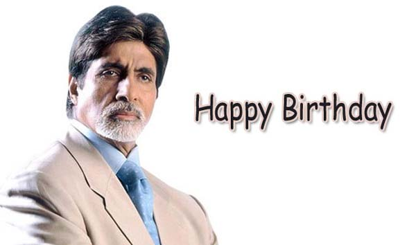 Amitabh Bachchan turns 70, celebrating birthday