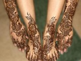 Feet and Hand Arabic Mehndi Designs collection
