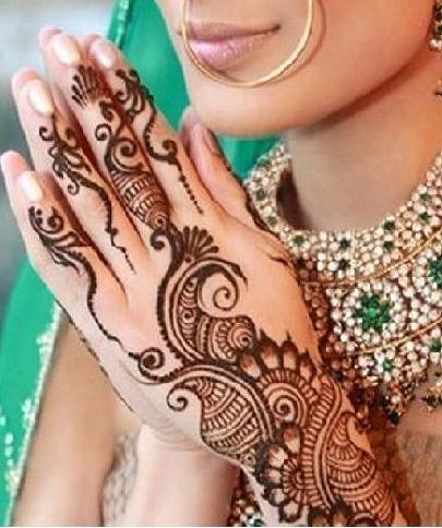 Bridal Mehndi Designs / Henna Designs for Bridal Latest