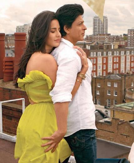 Shahrukh khan with katrina Kaif