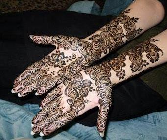 Mehndi Designs for Parties