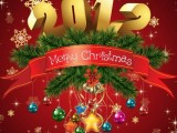 merry christmas 2012 greeting cards