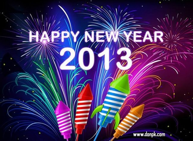Happy New Year 2013 Wallpapers, Greetings, Wishes, Quotes Sms