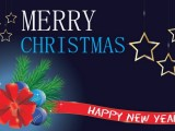 Happy new year and merry christmas