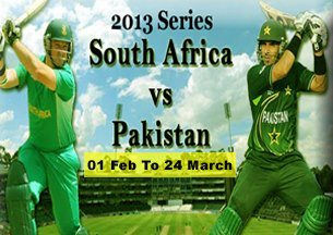 2013 Series South Africa Vs Pakistan 1st Feb to 24 March