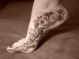 Henna Mehndi Designs for feet