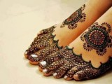 Mehndi designs for feet 2013