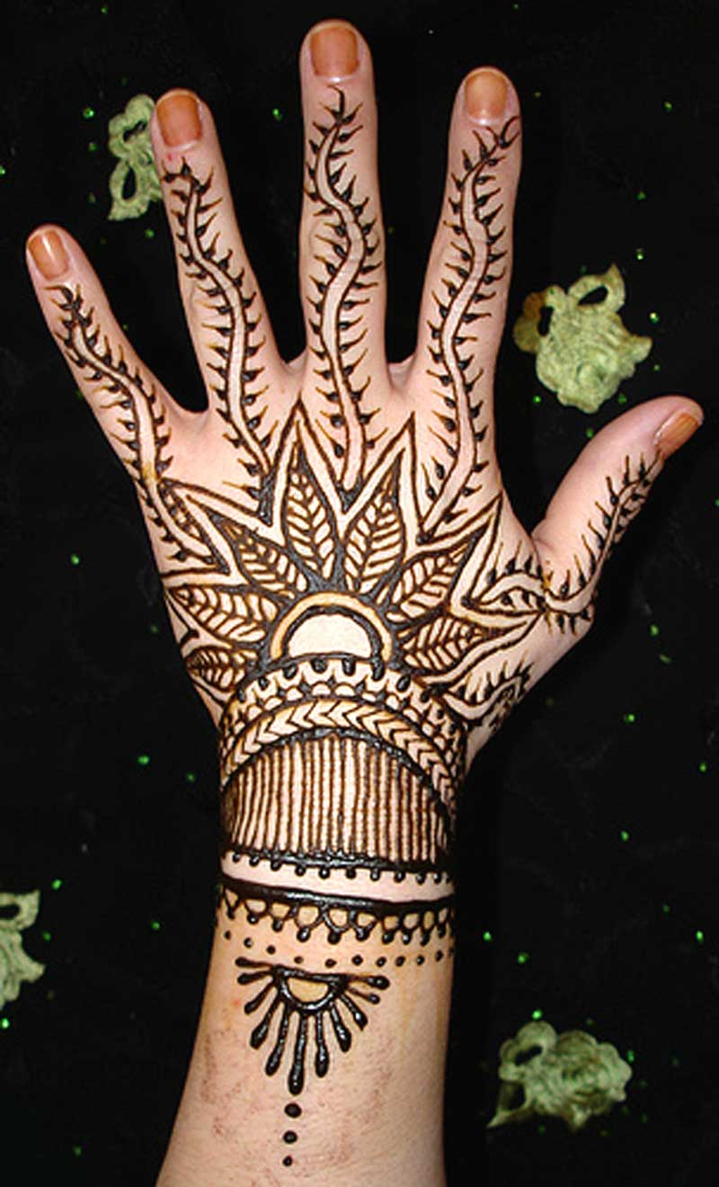 Mehndi Henna Fashion : Latest fashion trend henna mehndi designs