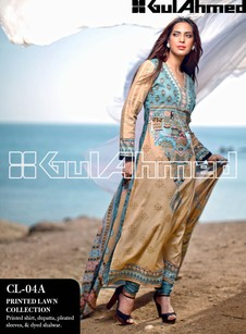 Brand New Summer lawn Dress by Gul Ahmed