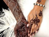 Complicated Mehndi Designs Art 2013