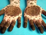 both hand mehndi art