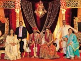 Boxer Amir Khan & Faryal Makhdoom Wedding Walima Pictures in Hotel