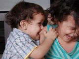 Twin baby funny pictures