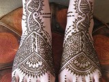 Mehndi Designs for Bridal Feet