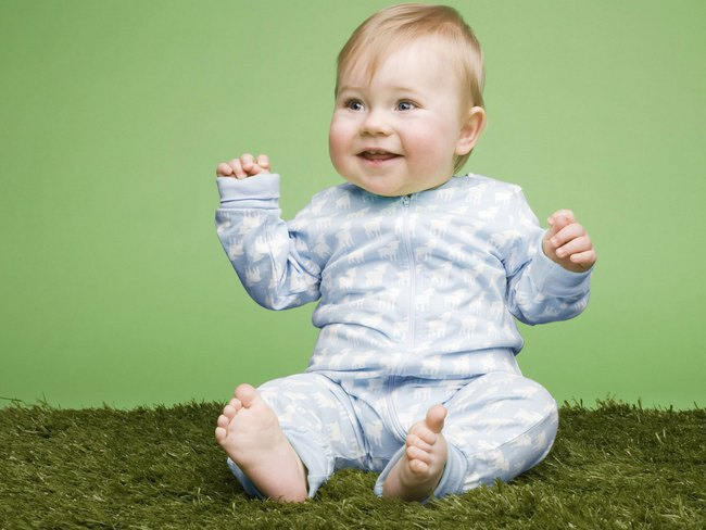 Cute baby laughing quotes
