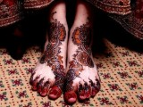 both Feet Mehndi Art