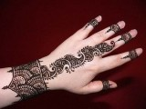 latest Mehndi Art 2013