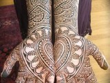 Lovely Heart Mehndi Art 2013