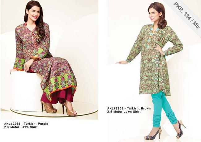 Alkaram Eid Dresses Collection 2013