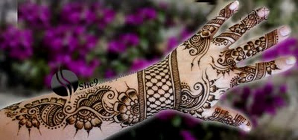 full Hand and arm Mehndi Design Collection