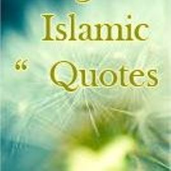 New English Quotes of Islam Hadith and Quran SMS Collection
