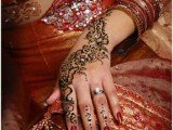 simple Dulhan Mehndi Designs 2013
