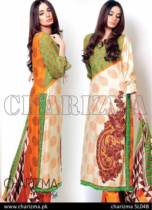 Charizma Stylish Fall Winter Dresses Collection 2013 For Women 09