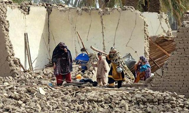 Earth Quake Killed More Than 260 persons in Pakistan Southwest Area