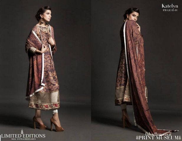 Fahad hussayn Print Museum Edition new fashion trend
