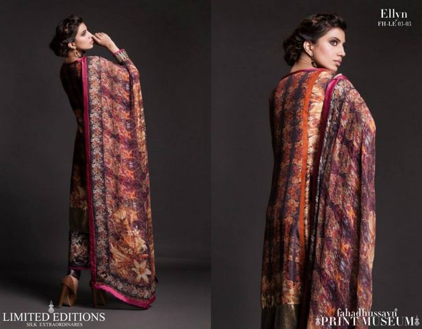 Fahad hussayn Print Museum Edition for girls