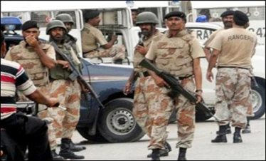 Rangers operation In karachi
