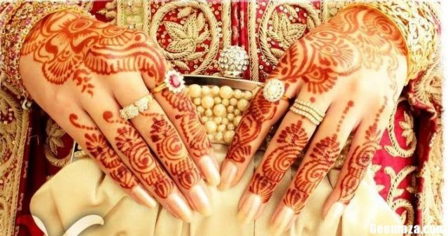 double hands Mehndi Designs 2016 new Fashion Trend