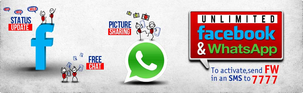 Warid Unlimited Facebook & WhatsApp Bundle Offer & Detail