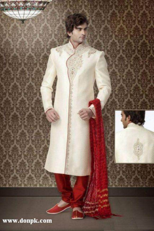 Sherwani Groom Wears Collection New Fashion Trend For Wedding