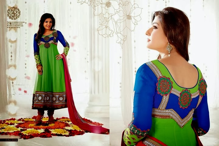 Bollywood Actress Latest Anarkali Frocks For Women