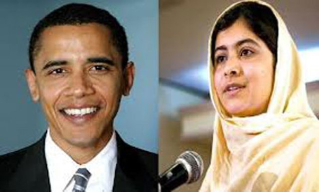 Malala Meeting with US President Obama