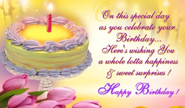 Love Birthday poetryMessages in urdu and English – Birthday Sms Greetings