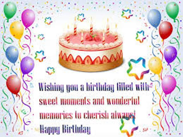 Birthday Wishes For Sister Quotes In Urdu: Birthday SMS In Hindi In Marathi In English For Friend In