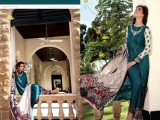 embroidered khaddar dresses