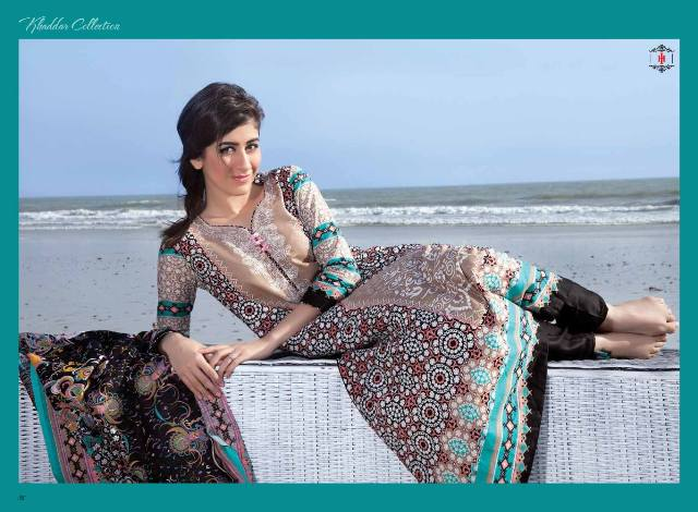 khaddar long dresses fashion