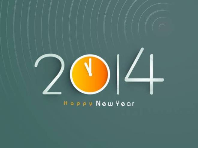 Exquisite New Year 2014 Wallpapers and Backgrounds (1)