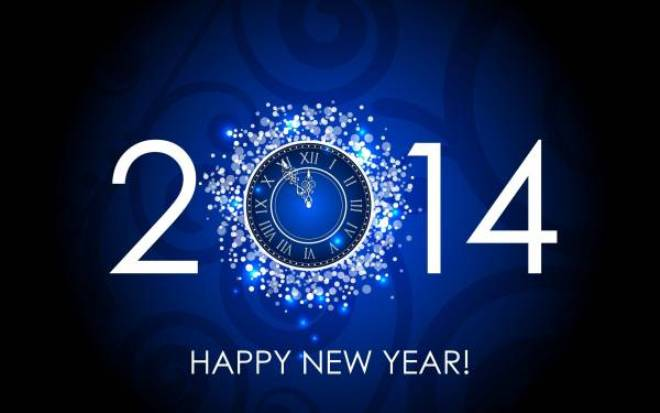 Happy new year 2014 HD wallpapers download free