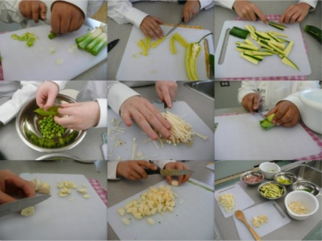 Food Vegetables Cooking Cutting Technique
