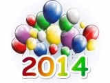 Happy new year 2014 with love