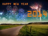 Happy new year 2014 for friends