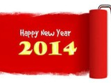 Happy new year 2014 banners