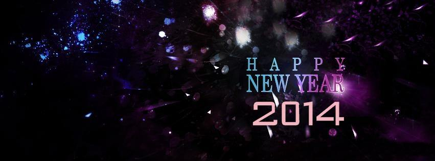 best awesome Happy New Year 2014 fb covers