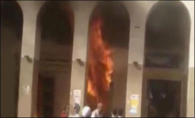 Madina hotel Fire Case 15 people died