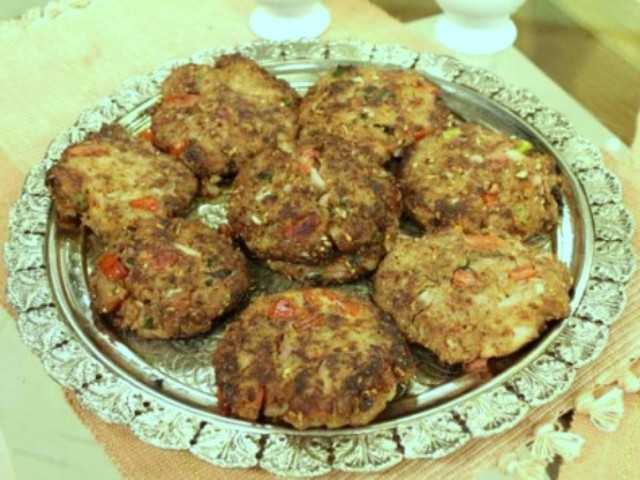 How to Make Chicken Chapli Kabab