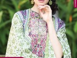 Summer lawn Dresses with TRENCIA SATIN SILK Collection2
